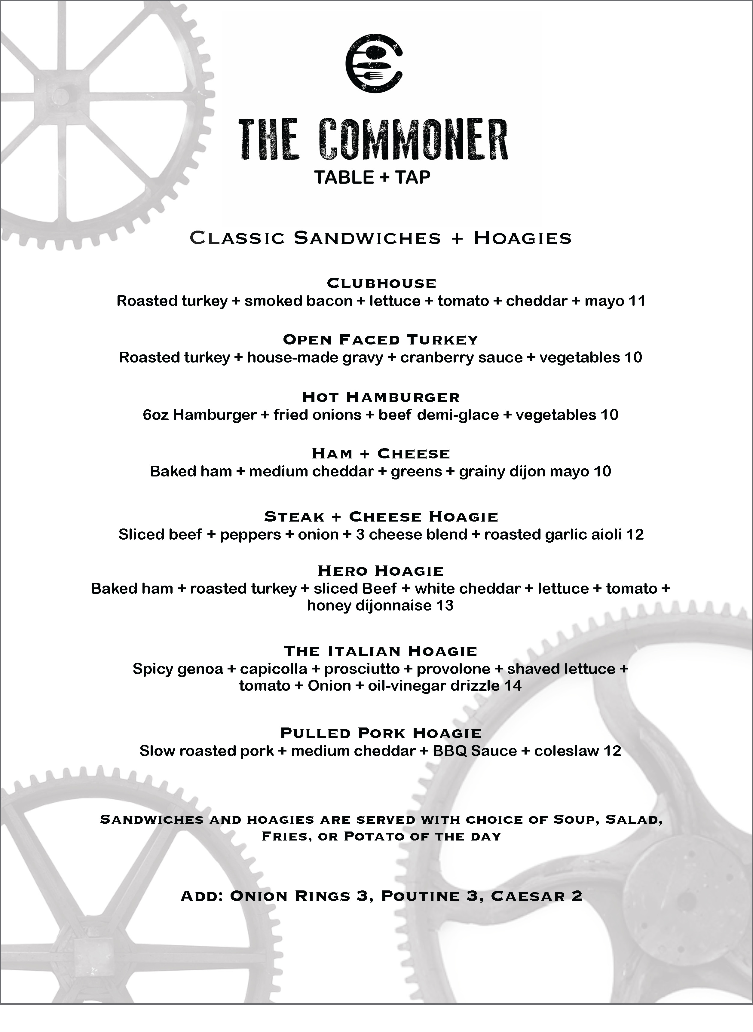 commoner day menu 1 Page 2