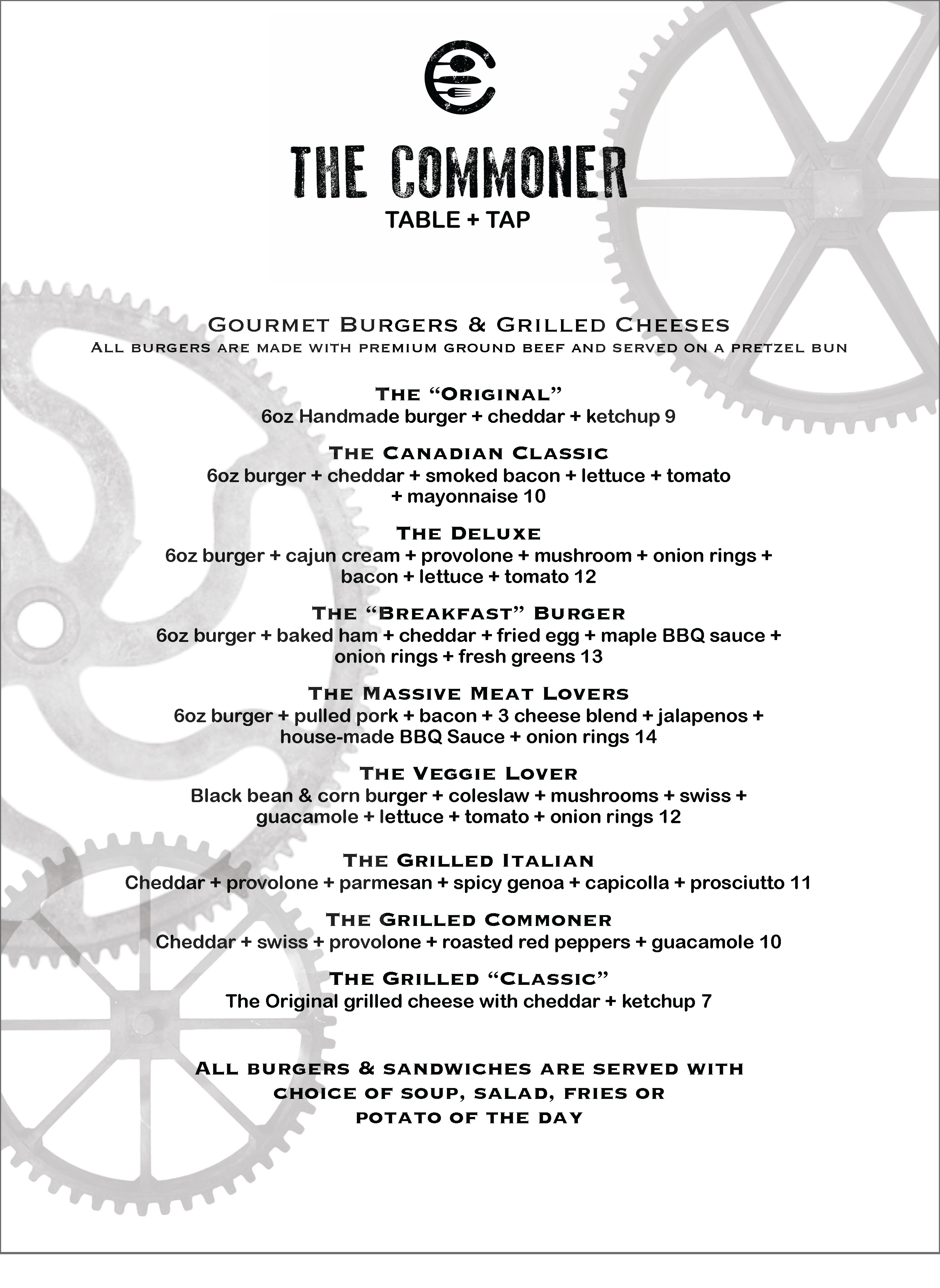 commoner day menu 1 Page 3